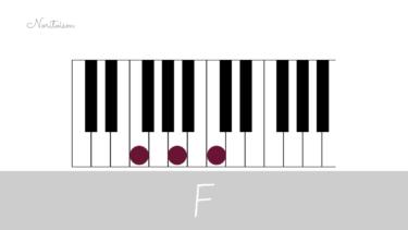 コード【F】をピアノで弾く。基本フォーム3種と用途を解説