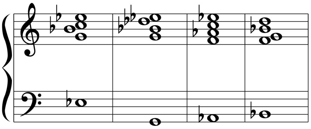 E♭6のカデンツ