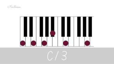 テンションコード【C13】をピアノで弾く。手の形を覚えて応用しよう