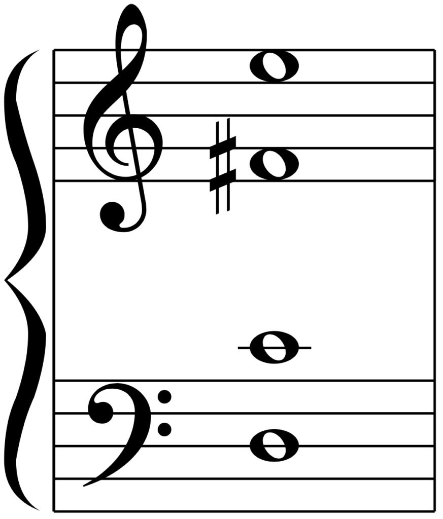 D9の弾き方